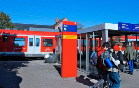S-Bahn-Bündnis Ost, Messe München, S-Bahn München, ÖPNV München