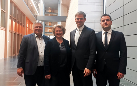 Martin Burkert, Rita Hagl-Kehl, Maximilian Böltl, Fabian Kauer