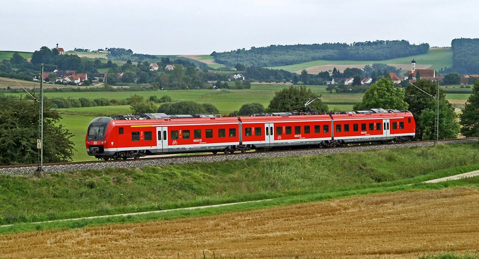 Bahn-Bayern-Landschaft