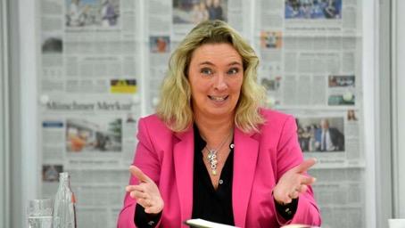 Bayerns Verkehrsministerin Kerstin Schreyer